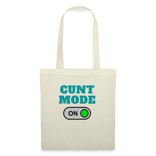 CUNT MODE - Tote Bag