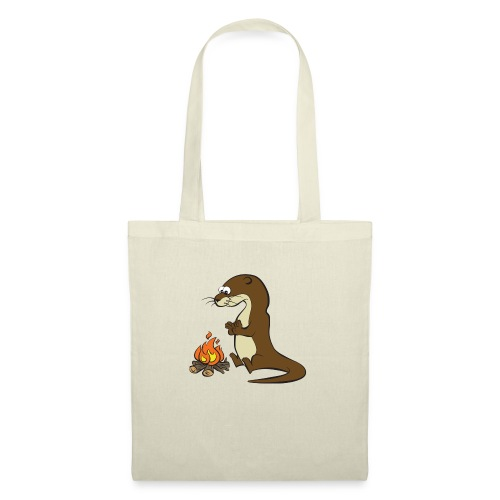 Song of the Paddle; Quentin campfire - Tote Bag