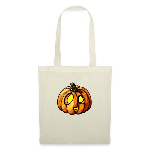Pumpkin Halloween watercolor scribblesirii - Tote Bag