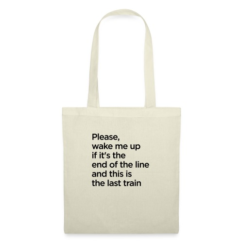 The End of the Line - Tote Bag