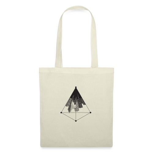 Ville triangle - Sac en tissu