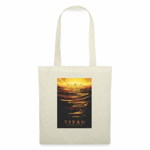 Vision du futur sur Titan - Tote Bag