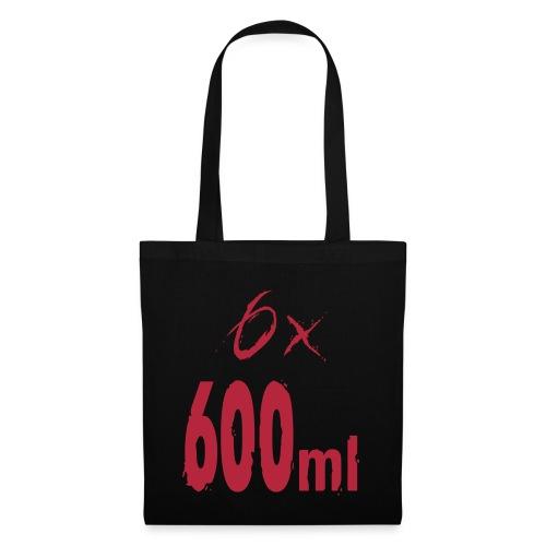 6x600ml - Tote Bag