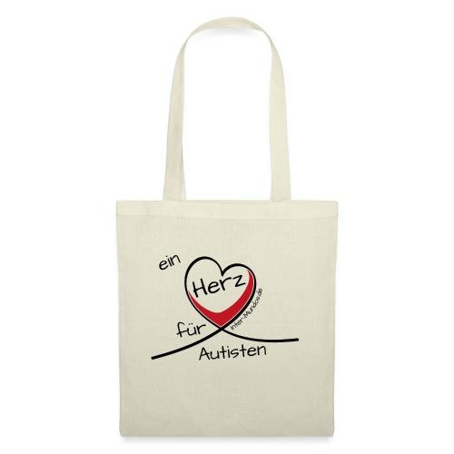 Ein Herz für Autisten - Stoffbeutel
