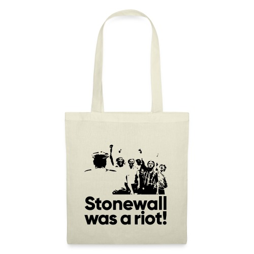 Stonewall was a riot! - Stoffbeutel