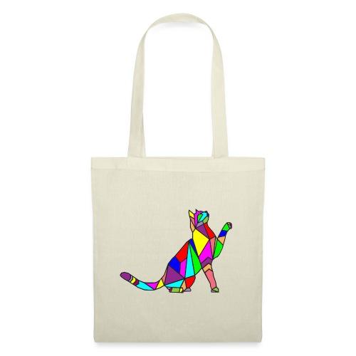 composizione di arte animale animale domestico colori gatto - Borsa di stoffa