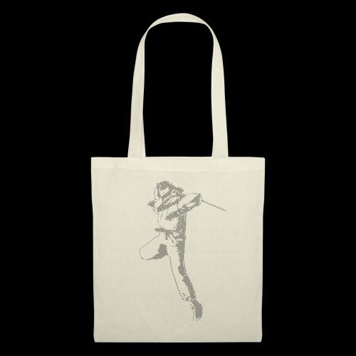 canniste lignes noir - Tote Bag