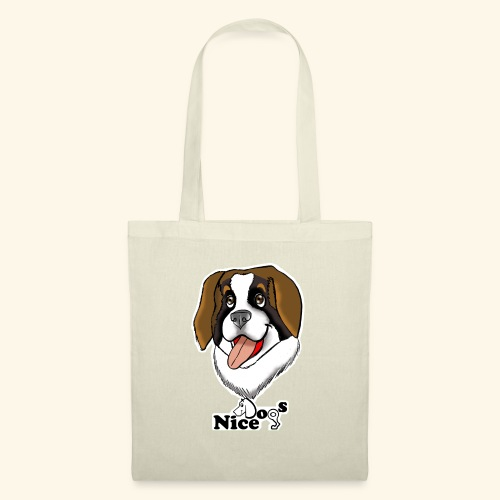 Nice Dogs san bernardo - Borsa di stoffa