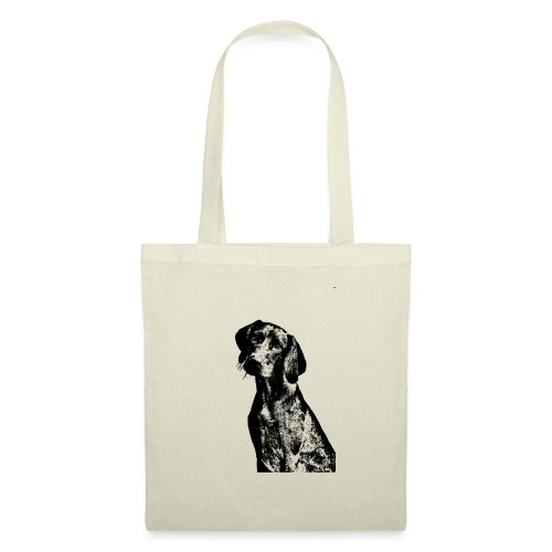 portrait of dog - Borsa di stoffa