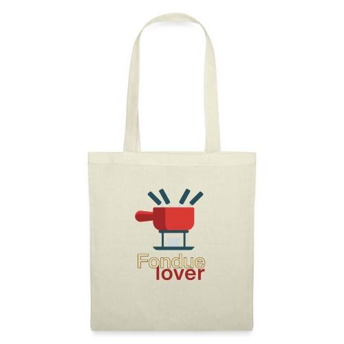 Fondue lover - Stoffbeutel