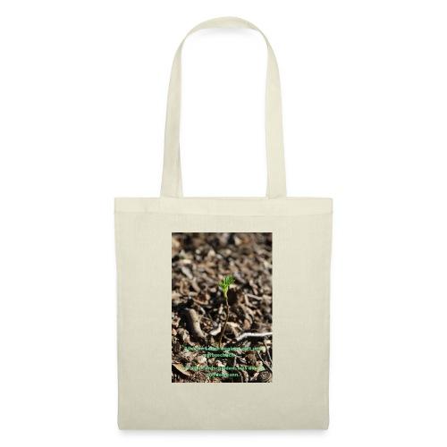 Hege die zarte Pflanze - Stoffbeutel