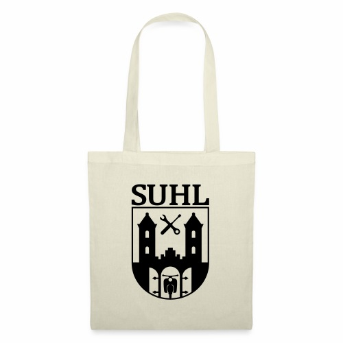 Simson Suhl coat of arms with text - Tote Bag