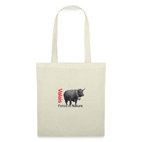 Naturgewalt - Kuh von Hérens Wallis - Stoffbeutel