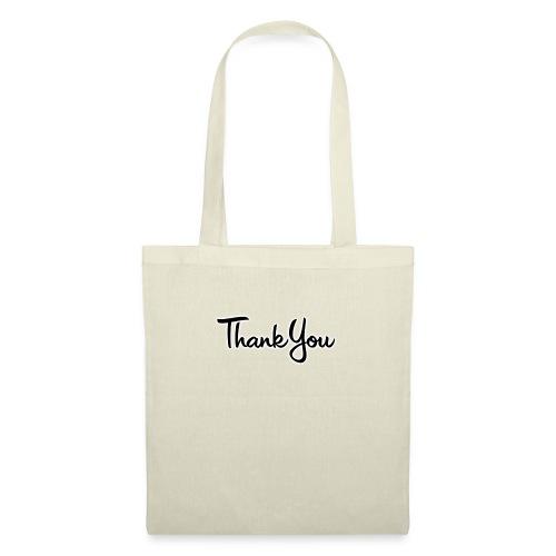 Logo Thank You - Sac en tissu