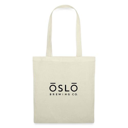 OSLO BREWING CO. - Logo Black - Tote Bag