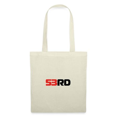 53RD Logo lang (schwarz-rot) - Stoffbeutel