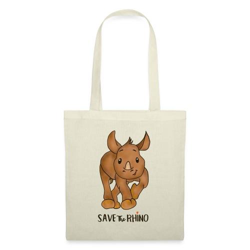 Save the Rhino - Tote Bag