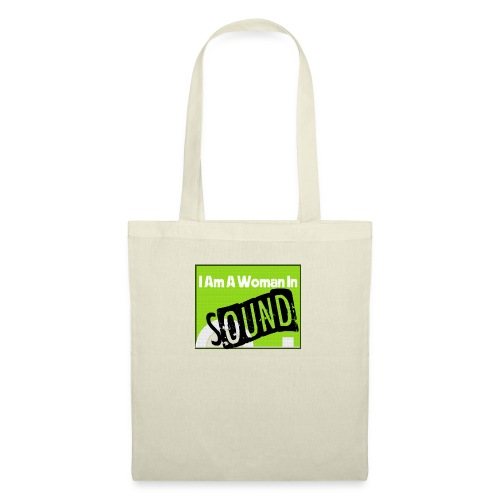 I am a woman in sound - Tote Bag