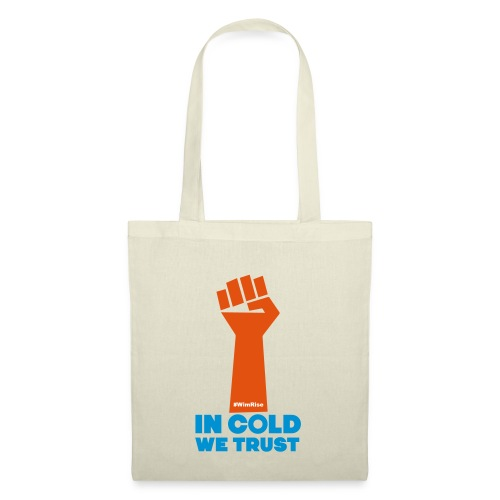 In Cold We Trust - Tote Bag