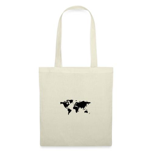 mundo - Bolsa de tela