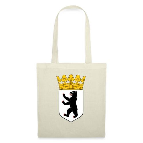 Berlin Wappen Klamotten - Stoffbeutel