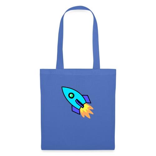 Blue rocket - Tote Bag