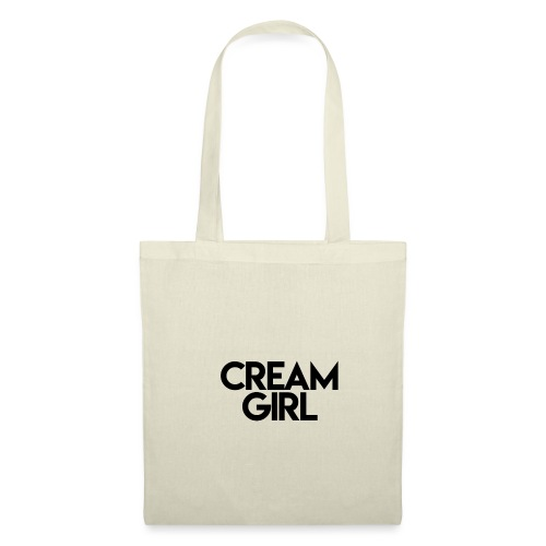 Cream Girl - Stoffbeutel