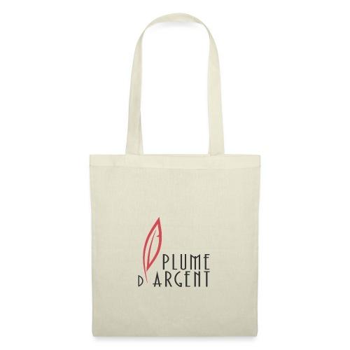 Logo - Texte plume - Tote Bag
