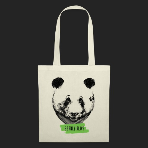 Panda bearly alive - Tote Bag