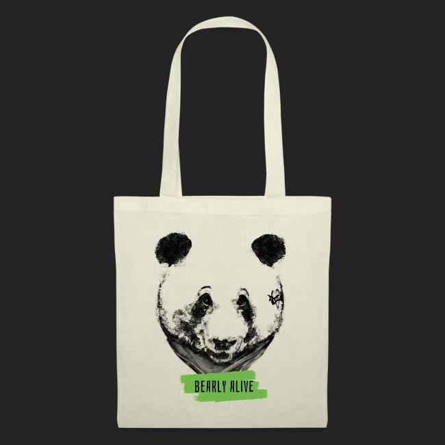 Panda bearly alive