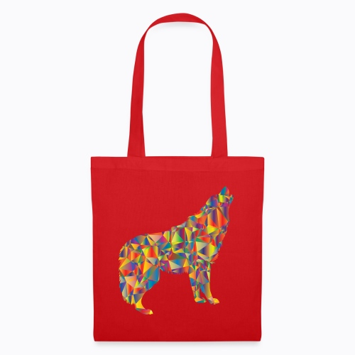 howling colorful - Tote Bag