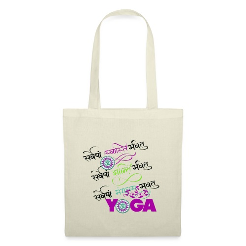 Sanskrit Yoga - Tote Bag