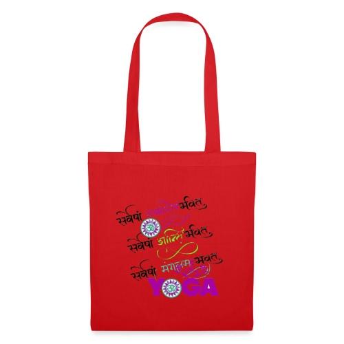 Yoga Sanscrit - Tote Bag
