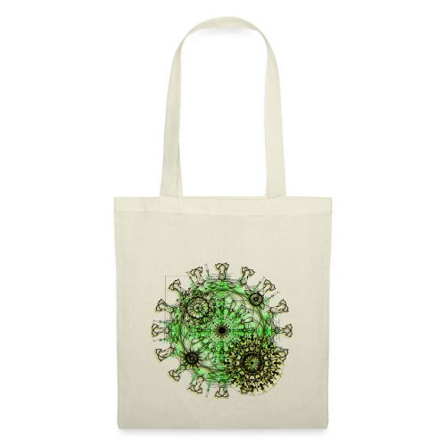 Virus 150220 ds. A - Tote Bag