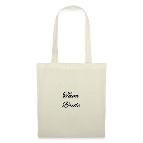 Team Bride oder Team Breit? - Stoffbeutel