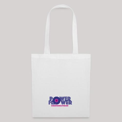 Logo PowerFlower colori - Borsa di stoffa