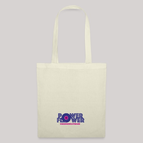 Logo PowerFlower colori - Borsa di stoffa