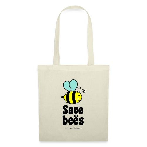 Bees9-1 save the bees | Bienen Blumen Schützen - Tote Bag