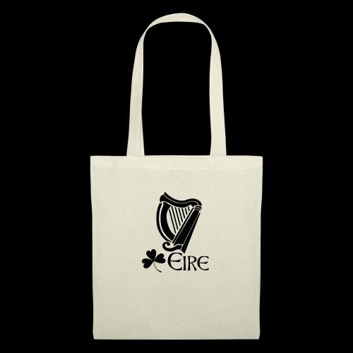 Irish Harp and Shamrock - Tote Bag