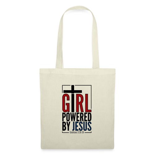 Girl powered by Jesus - Tygväska
