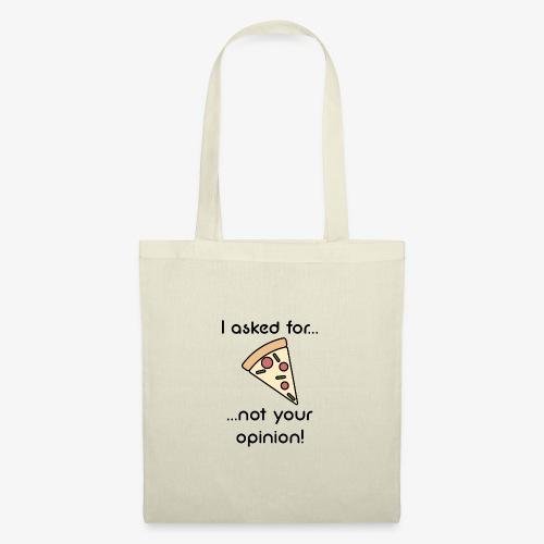 Pizza Opinion - Stoffbeutel
