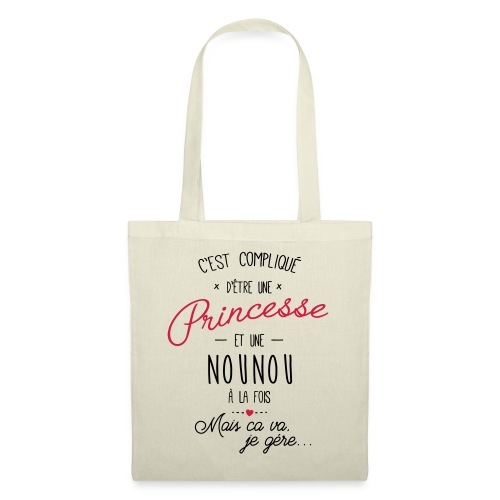 princesse et nounou 2 - Tote Bag