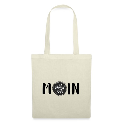 MOIN IOTA | BTC, Kryptowährung | IOTA Shirt - Stoffbeutel
