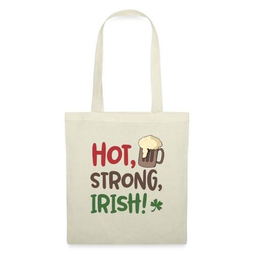 hot strong irish - Irish coffee, irish beer - Part - Tote Bag