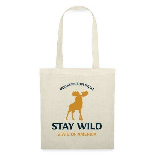 Stay Wild - Stoffbeutel