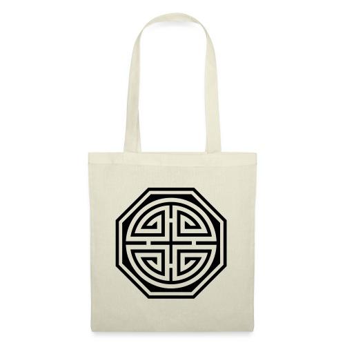 Chinesisches Glücks Symbol, Four Blessings, Segen - Stoffbeutel