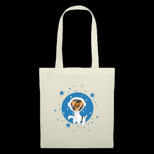 Kleiner Hund im Weltall - Stoffbeutel