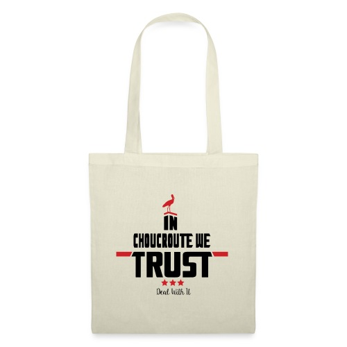 In Choucroute We Trust - Sac en tissu