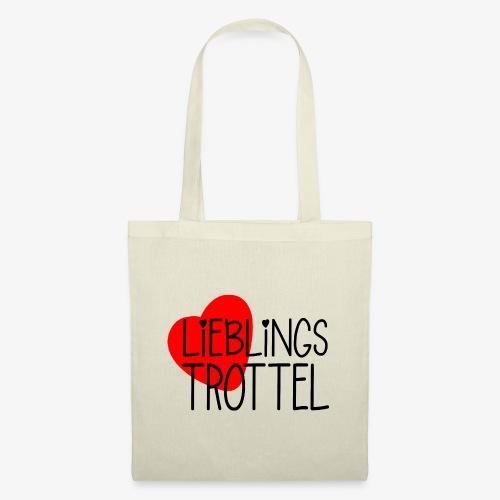 Lieblings-Trottel Geschenkidee Valentinstag - Stoffbeutel