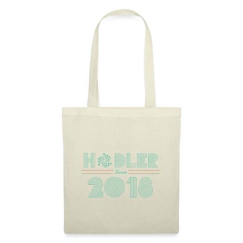 IOTA Hodler since 2018 - Stoffbeutel